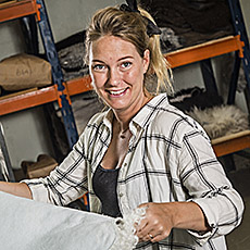Mathilda Tranås Skinnberedning